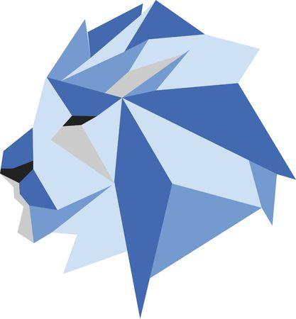 3d lion: lion Illustration