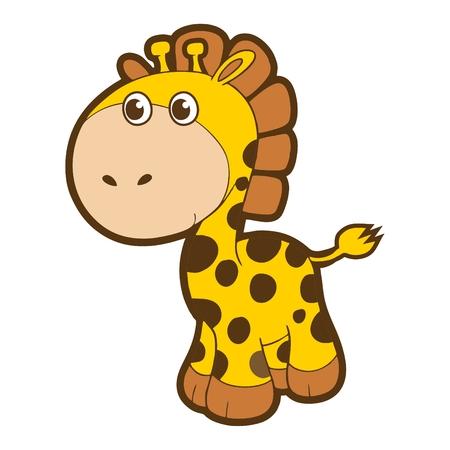 humanistic: cartoon giraffe