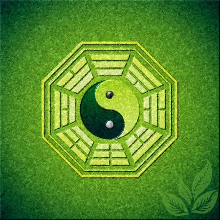 eight trigrams, bagua, fengshui Illustration
