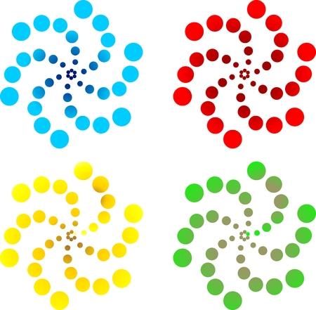 spiral pattern: spiral pattern, lighting pattern