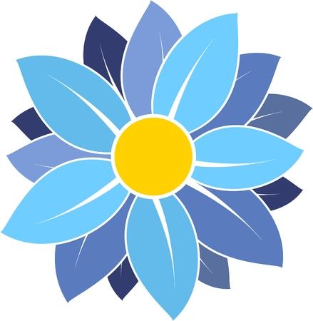 chamomile tea: daisy, Chamomile, blue chamomile, blue daisy, daisy pattern, daisy icon Illustration