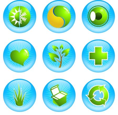 green icon: Green Icon Illustration