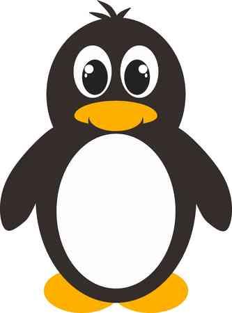yellow eyed penguin: penguin cartoon penguin