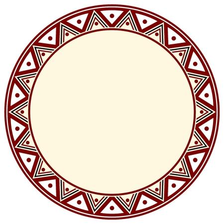 inca: inca circle Illustration