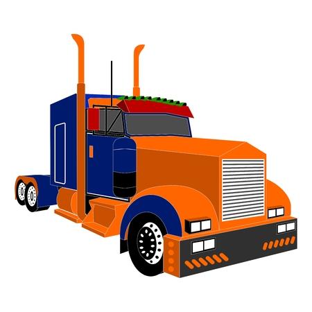 trucker: big truck