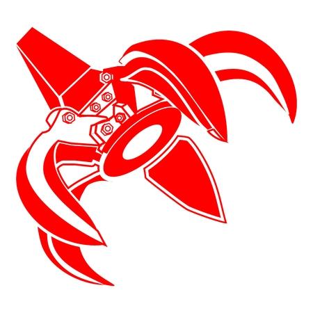 talon: claw crane Illustration