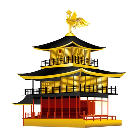 japanese temple: golden temple