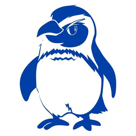 lineart: penguin lineart Illustration