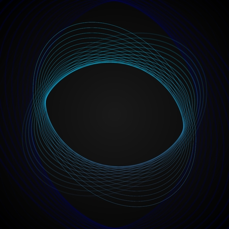 disappearing point: spiral background