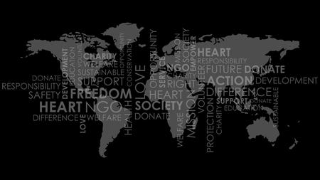 charity world map