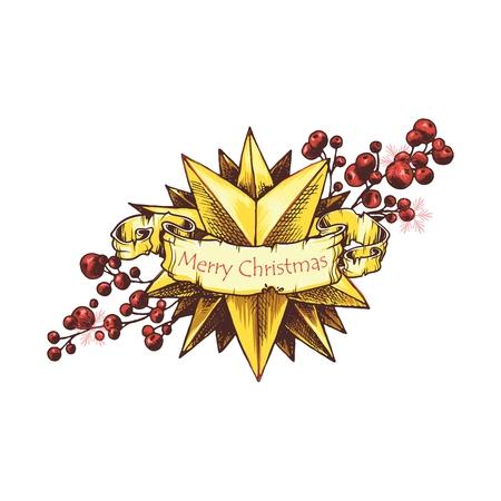 christmas star: Christmas star vintage