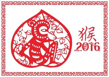 stroke of luck: Year of monkey
