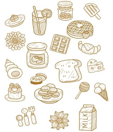 corn flakes: Tea set icon