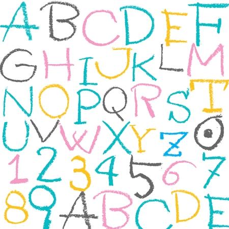 chalky: Alphabet pattern
