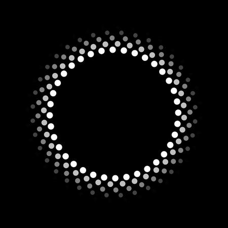 bokeh background: Abstract circle pattern Illustration