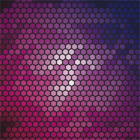 abstact: Abstact hexagon background