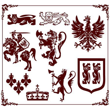 Vector Royalty clips Illustration