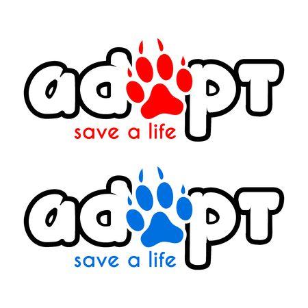 adoption: Vector adoption logo
