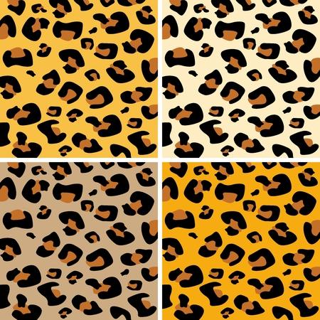 chita: Patrón Vector guepardo Vectores