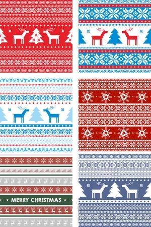 scandinavian: Seamless Repeating scandinavian pattern