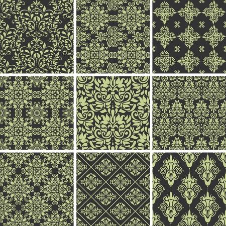 Seamless Scroll Pattern