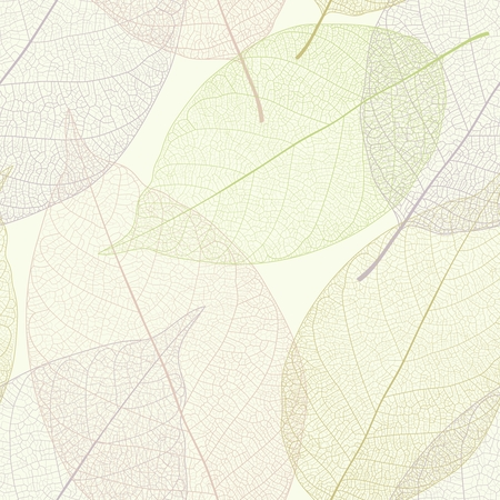 Vector Leaf Veins Closeup Pattern Background, simple realistic portrait 向量圖像