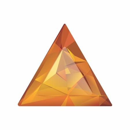 prestigious: Vector Realistic 3D Jewelry Gemstones isolated on white background Illustration