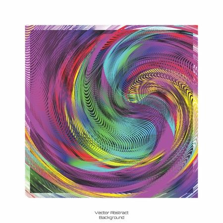 senseless: Random Meaningless Abstract Blending of Colorful Swirl Background Illustration Illustration
