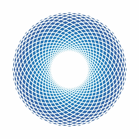 Vector Abstract Artistic Infinity Geometry Circular Symbol