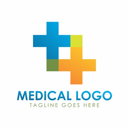 Vector Medicine Health care Logotype, Medical Cross Pharmacy Logo Illustration