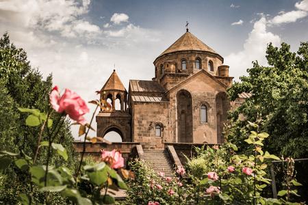 聖リュプシメ教会、エチミアジン, アルメニア 写真素材