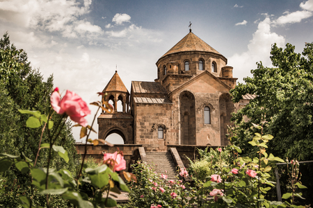 Saint Hripsime Church, Echmiadzin, Armenia Stock Photo - 76133518