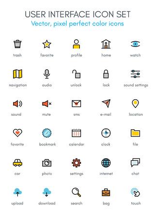 programar la interfaz de usuario icono de la línea tema. Píxel perfecto icono de vector completamente editable conjunto adecuado para los sitios web, información gráfica y material de impresión. Ilustración de vector
