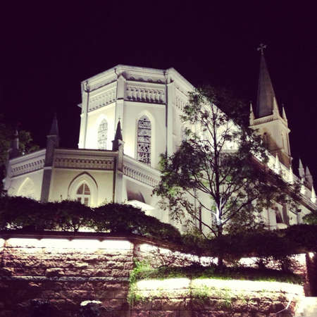 CHIJMES historic building complex in Singapore