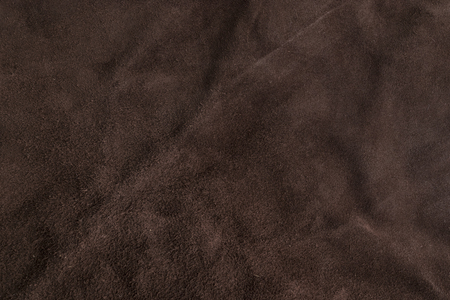 back rub: Soft brown Italian chamois leather texture background