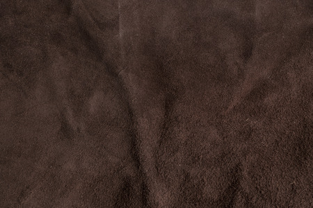 red sofa: Raw brown Italian chamois leather texture background