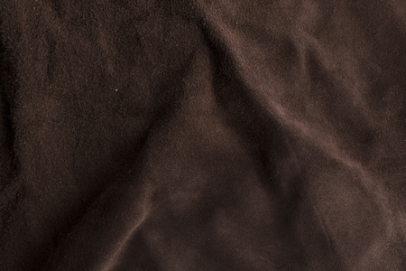 back rub: Soft Italian brown chamois texture, fabric, textile. Stock Photo