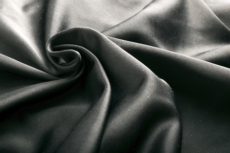 炭素繊維織物、織物テクスチャ背景。銀の反射。 写真素材