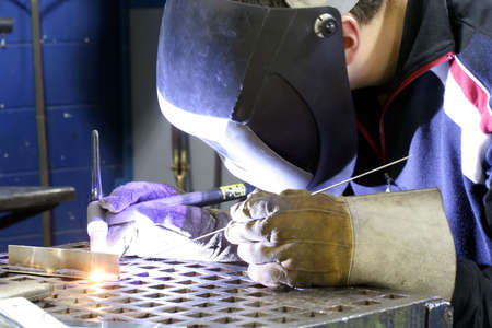 Tunsten inert Gas welding