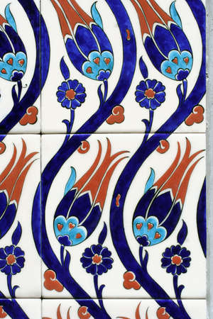 luxuriance: Oriental painted ceramic tiles