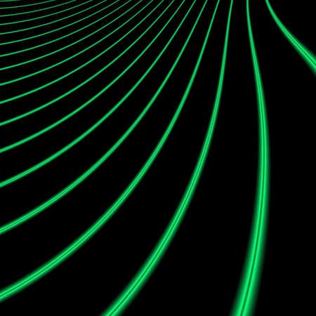 Fluorescerende optic vezels Stockfoto