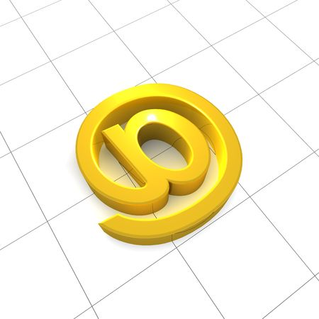e-mail icon Stock Photo - 6297782