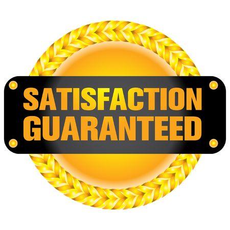 guarantee label  Illustration
