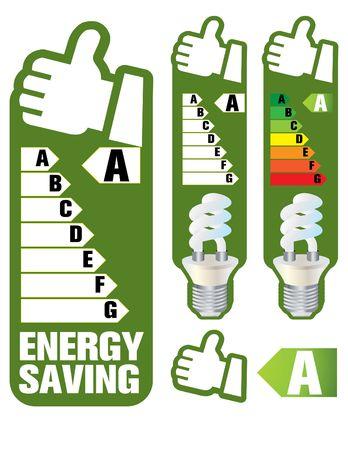 energy saving Stock Vector - 6635671