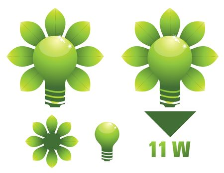 save the planet: energy saving