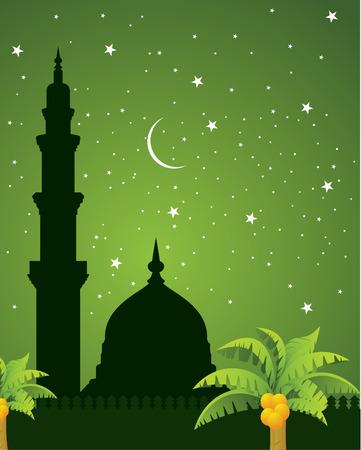 mosque illustration: mosque Illustration