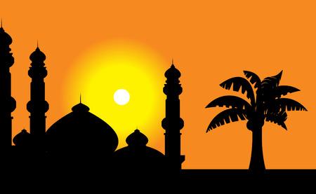 calligraphie arabe: Mosqu�e