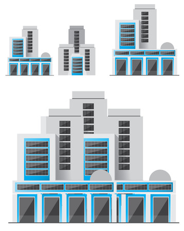 modern office: modern building