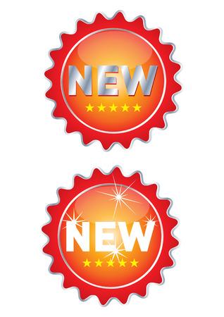 new labels Illustration