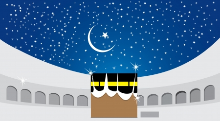 kaaba Illustration
